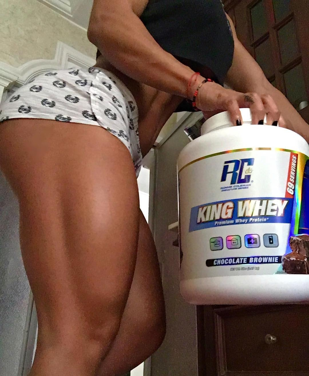 The only thing for regal quads is the king of protein powders